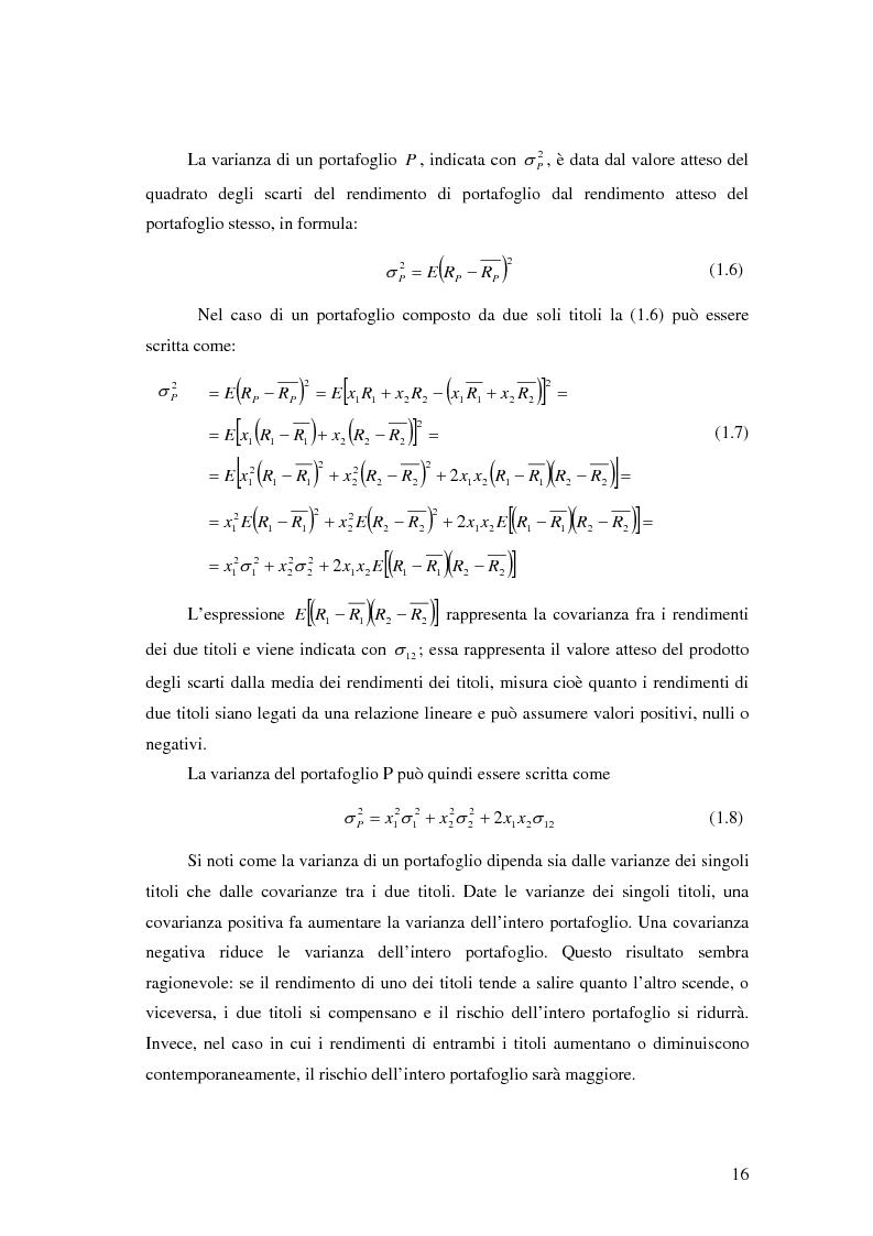 Anteprima della tesi: Approcci Multicriteriali per Problemi di Selezione di Portafoglio: un'applicazione alla Finanza Socialmente Responsabile, Pagina 13