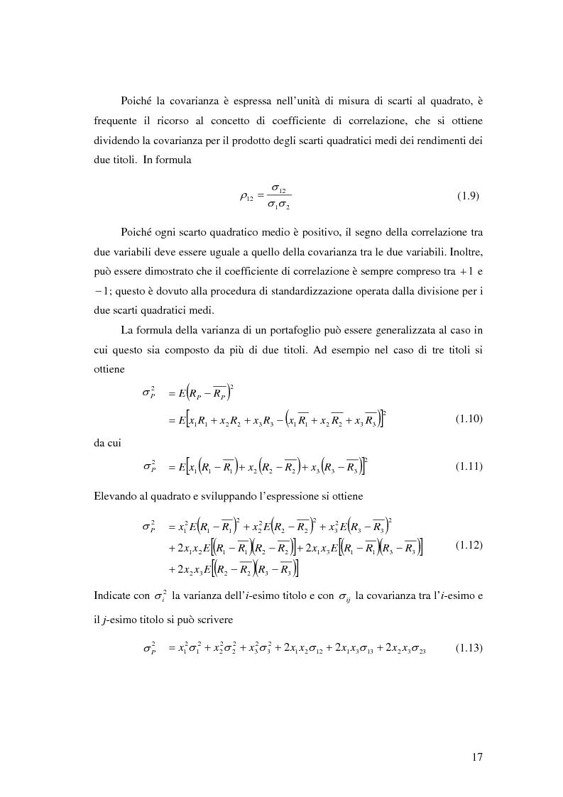 Anteprima della tesi: Approcci Multicriteriali per Problemi di Selezione di Portafoglio: un'applicazione alla Finanza Socialmente Responsabile, Pagina 14