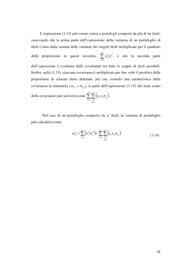 Anteprima della tesi: Approcci Multicriteriali per Problemi di Selezione di Portafoglio: un'applicazione alla Finanza Socialmente Responsabile, Pagina 15