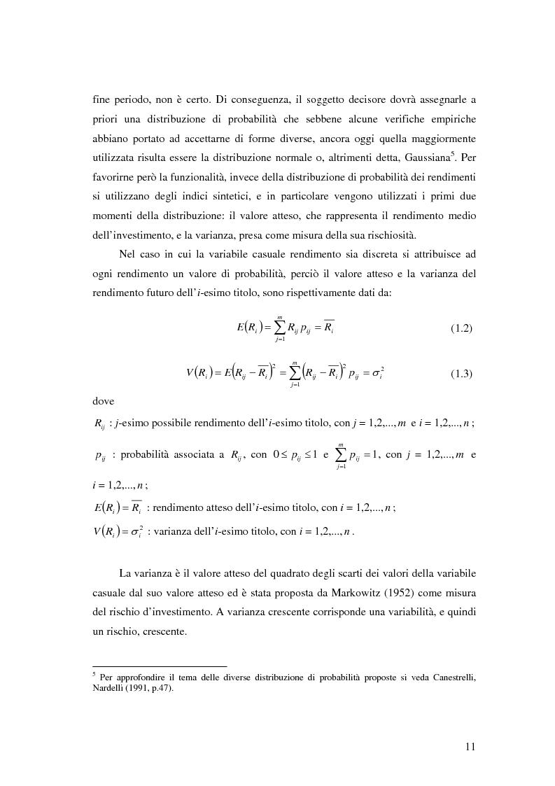 Anteprima della tesi: Approcci Multicriteriali per Problemi di Selezione di Portafoglio: un'applicazione alla Finanza Socialmente Responsabile, Pagina 8