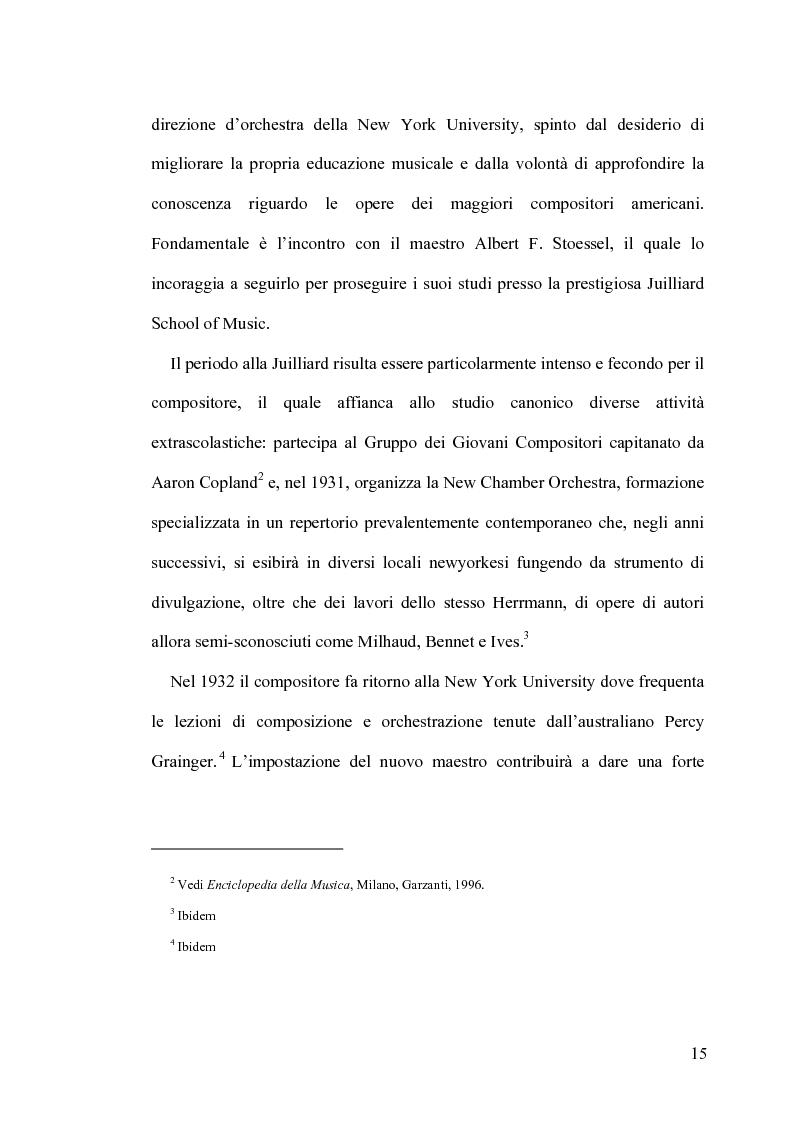 Anteprima della tesi: Intrigo intertestuale: un' indagine semiotica della collaborazione Hitchcock/Herrmann, Pagina 11