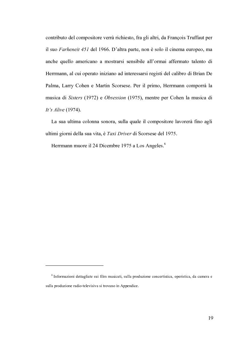 Anteprima della tesi: Intrigo intertestuale: un' indagine semiotica della collaborazione Hitchcock/Herrmann, Pagina 15