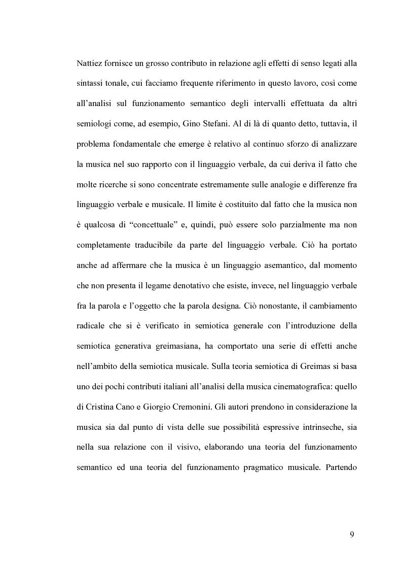 Anteprima della tesi: Intrigo intertestuale: un' indagine semiotica della collaborazione Hitchcock/Herrmann, Pagina 5