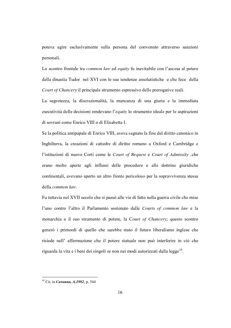 Anteprima della tesi: La Costituzione Britannica tra tradizione e modernizzazione, Pagina 12