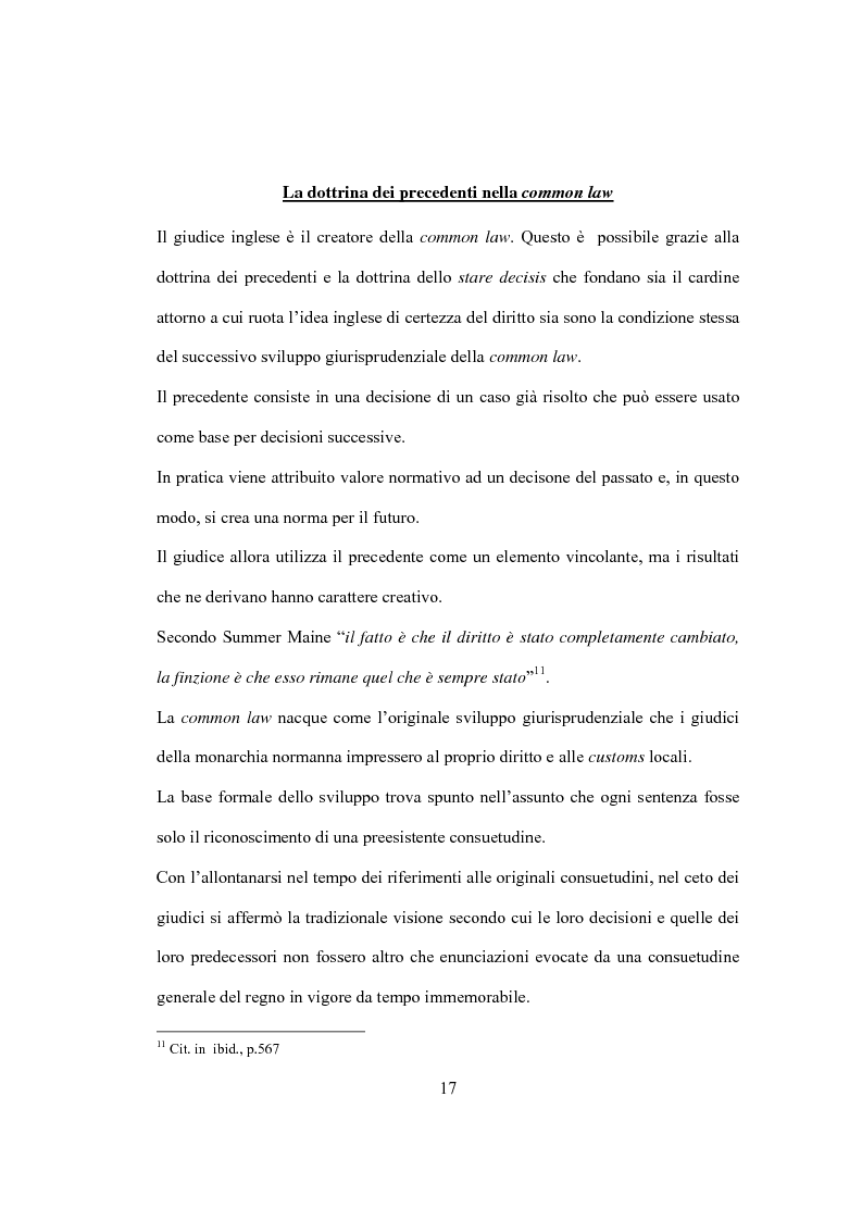 Anteprima della tesi: La Costituzione Britannica tra tradizione e modernizzazione, Pagina 13