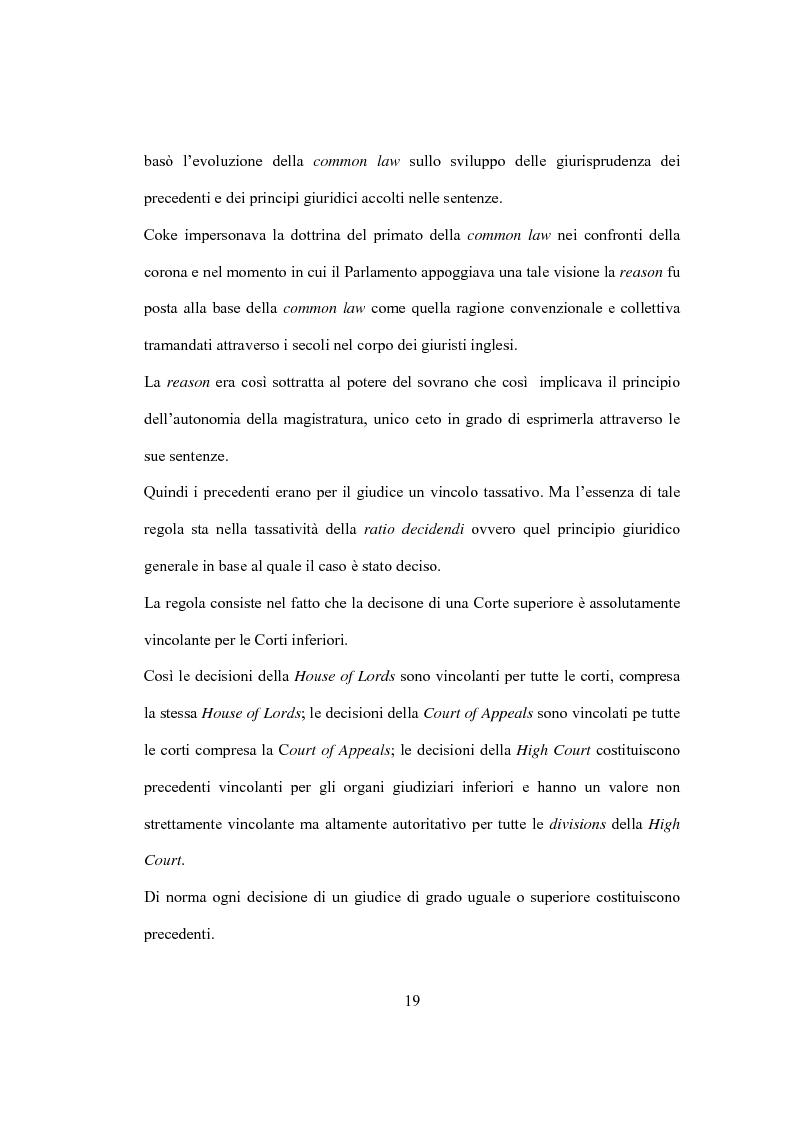 Anteprima della tesi: La Costituzione Britannica tra tradizione e modernizzazione, Pagina 15