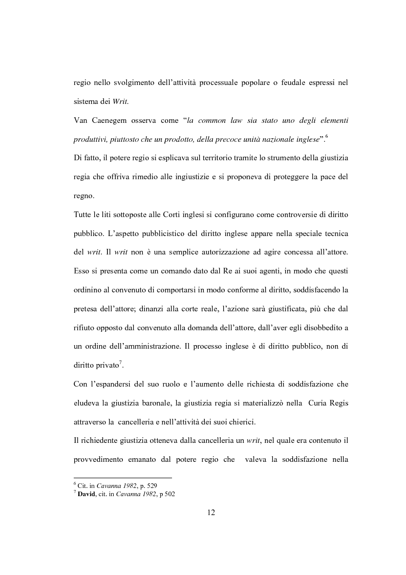 Anteprima della tesi: La Costituzione Britannica tra tradizione e modernizzazione, Pagina 8