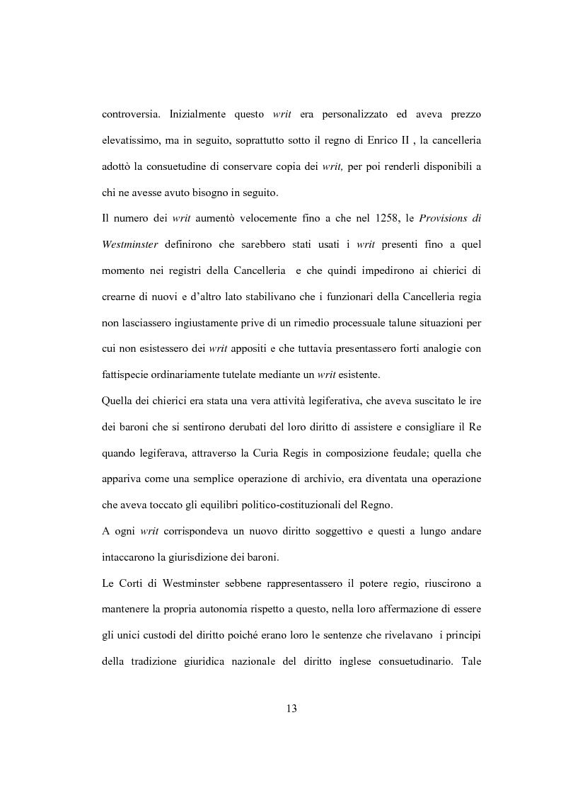 Anteprima della tesi: La Costituzione Britannica tra tradizione e modernizzazione, Pagina 9