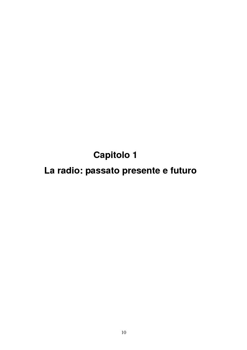 Anteprima della tesi: Il consumo della radio: il caso Radio Deejay., Pagina 5