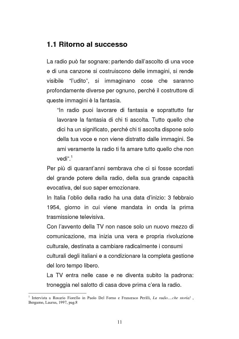 Anteprima della tesi: Il consumo della radio: il caso Radio Deejay., Pagina 6