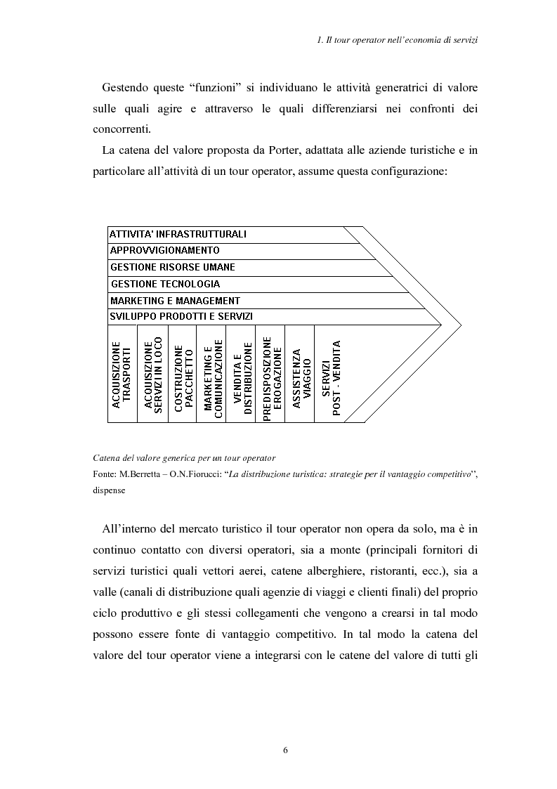 Anteprima della tesi: L'Assistenza Turistica: il Valore Aggiunto della vacanza organizzata, Pagina 10