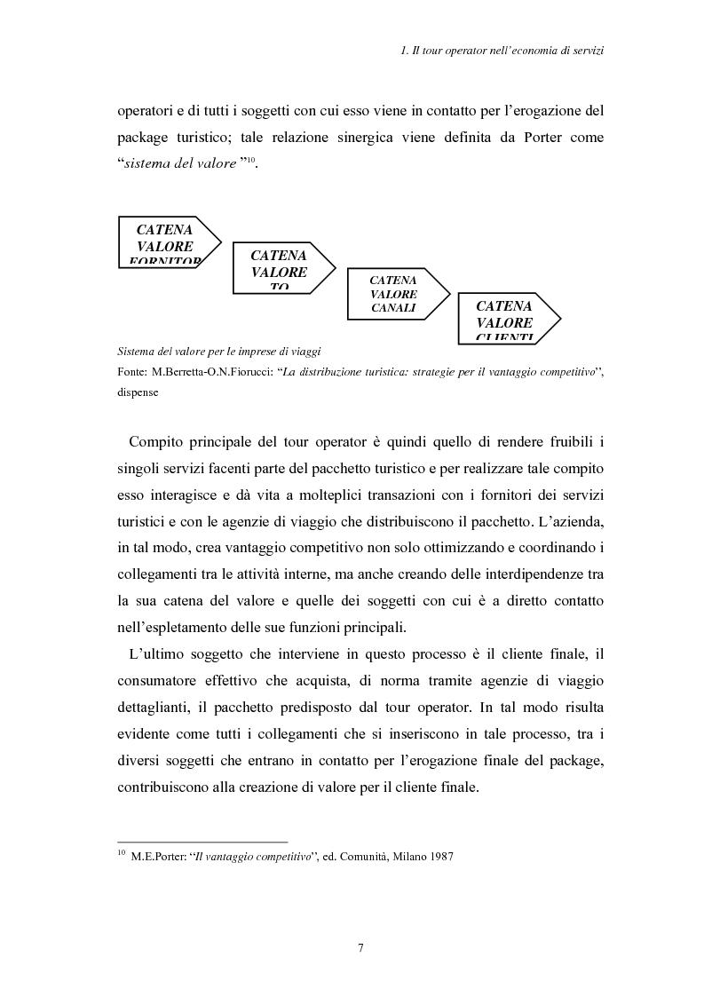 Anteprima della tesi: L'Assistenza Turistica: il Valore Aggiunto della vacanza organizzata, Pagina 11