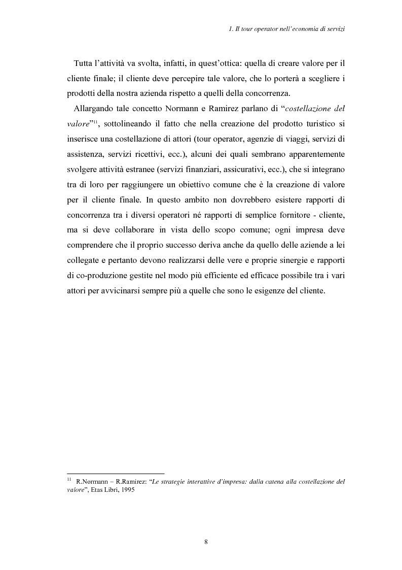 Anteprima della tesi: L'Assistenza Turistica: il Valore Aggiunto della vacanza organizzata, Pagina 12