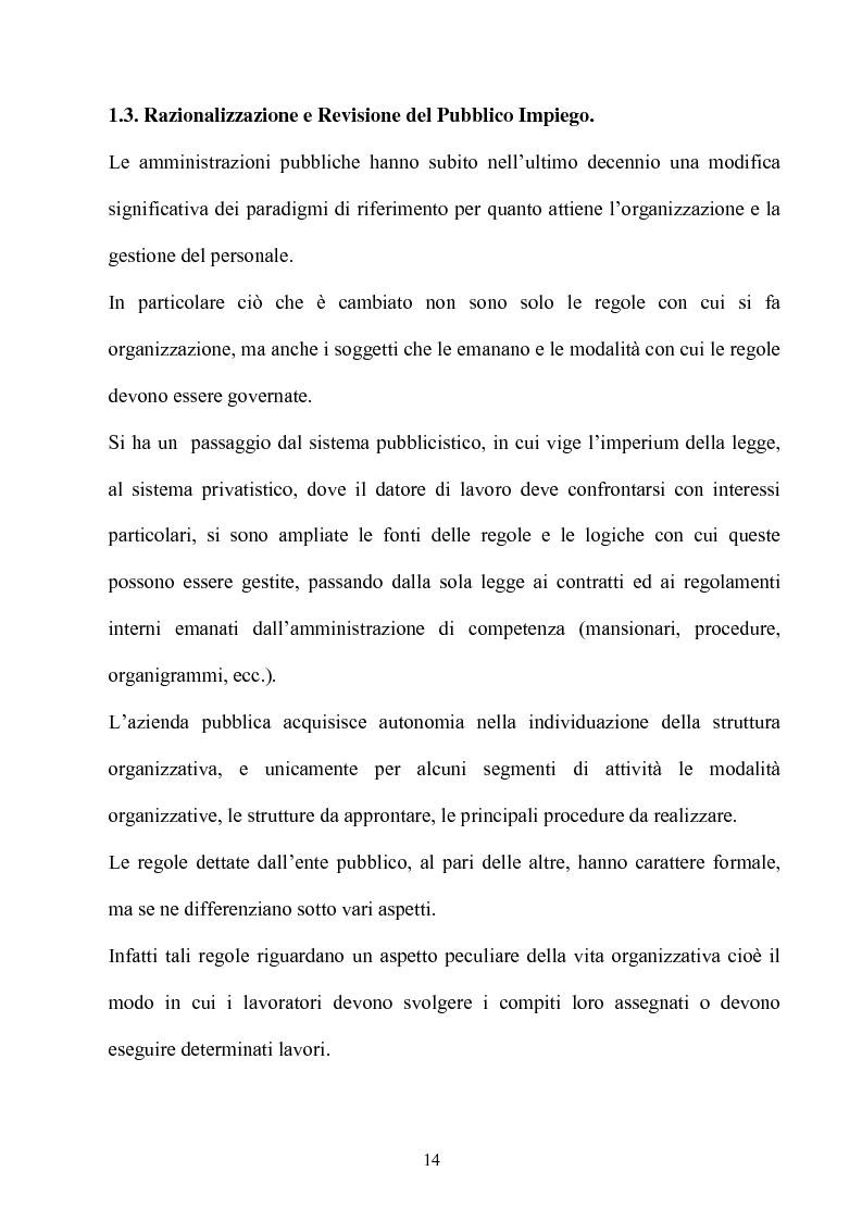 Anteprima della tesi: Gli effetti dell'autonomia sulla gestione e sul sistema contabile dell'istituzioni scolastiche. Un caso, Pagina 12