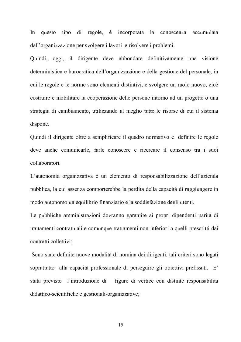 Anteprima della tesi: Gli effetti dell'autonomia sulla gestione e sul sistema contabile dell'istituzioni scolastiche. Un caso, Pagina 13