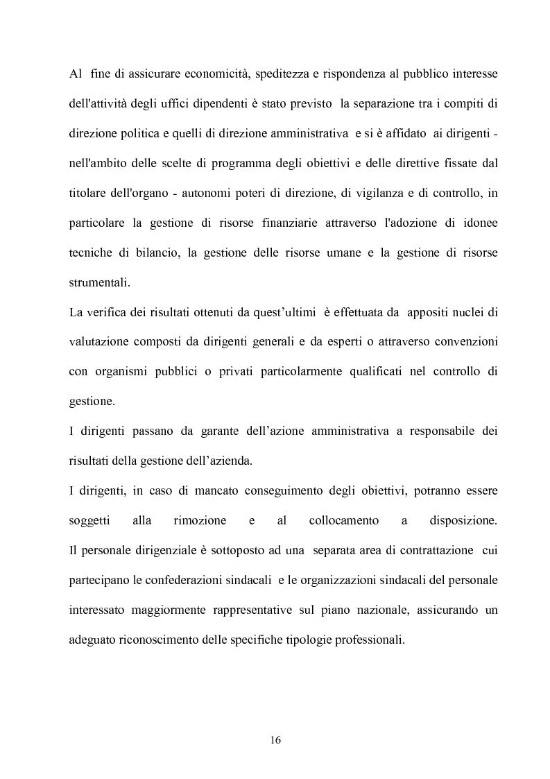 Anteprima della tesi: Gli effetti dell'autonomia sulla gestione e sul sistema contabile dell'istituzioni scolastiche. Un caso, Pagina 14