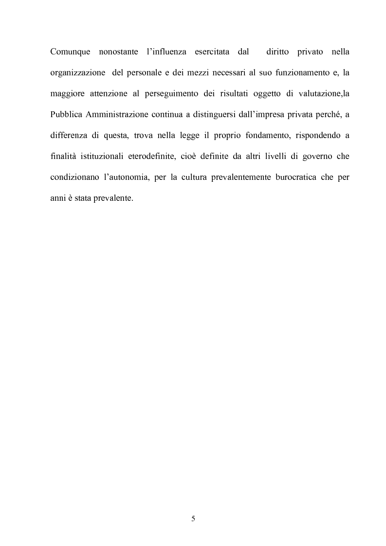 Anteprima della tesi: Gli effetti dell'autonomia sulla gestione e sul sistema contabile dell'istituzioni scolastiche. Un caso, Pagina 3