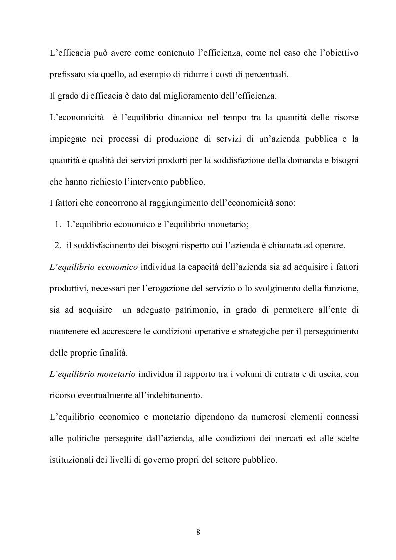 Anteprima della tesi: Gli effetti dell'autonomia sulla gestione e sul sistema contabile dell'istituzioni scolastiche. Un caso, Pagina 6