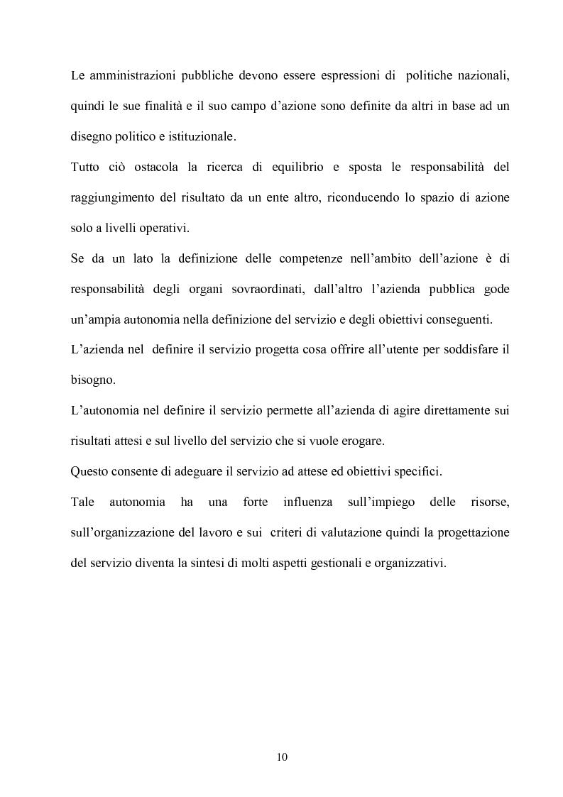 Anteprima della tesi: Gli effetti dell'autonomia sulla gestione e sul sistema contabile dell'istituzioni scolastiche. Un caso, Pagina 8