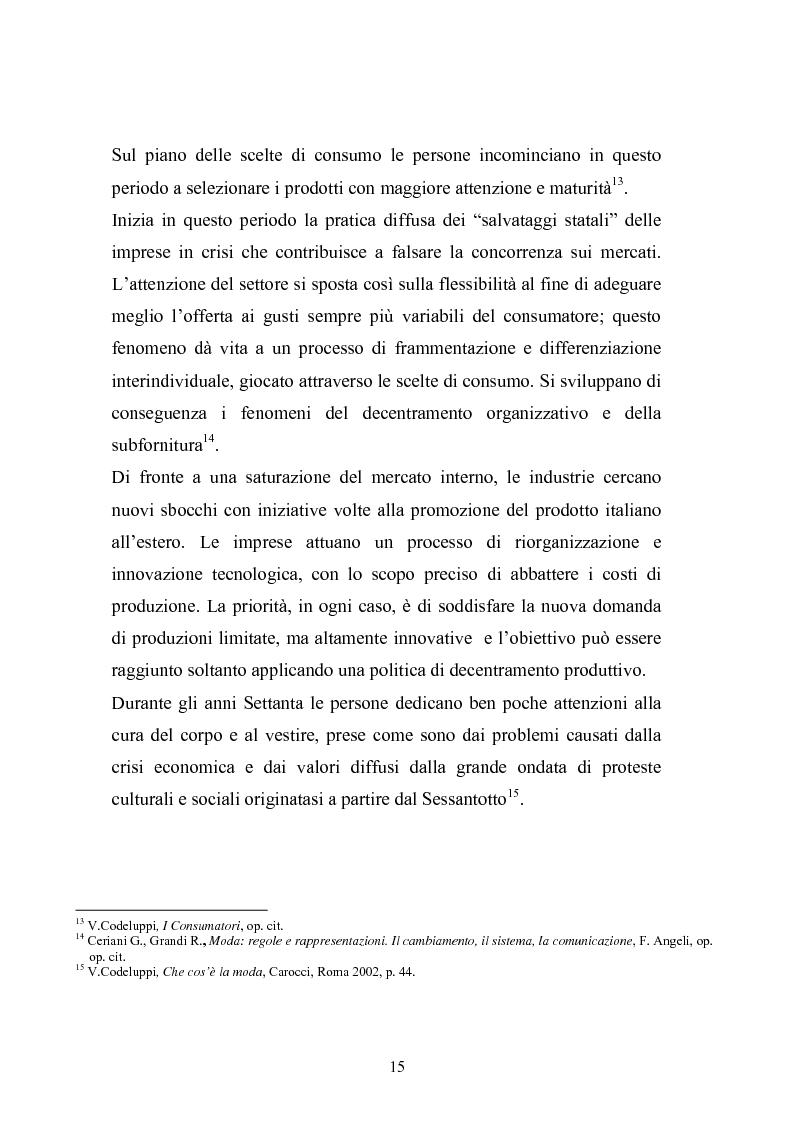 Anteprima della tesi: Qualità e delocalizzazione nella società che cambia il caso LUBIAM, Pagina 13