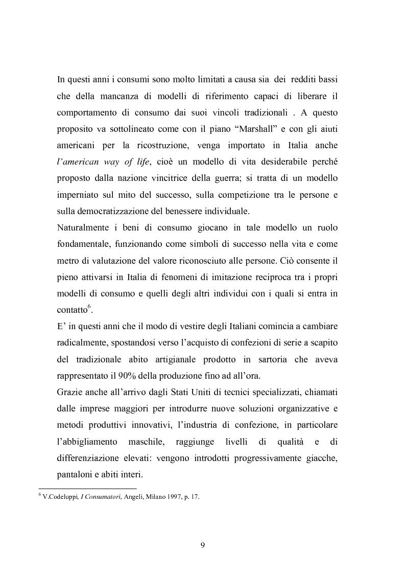 Anteprima della tesi: Qualità e delocalizzazione nella società che cambia il caso LUBIAM, Pagina 7