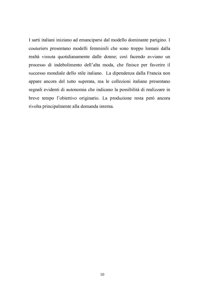 Anteprima della tesi: Qualità e delocalizzazione nella società che cambia il caso LUBIAM, Pagina 8