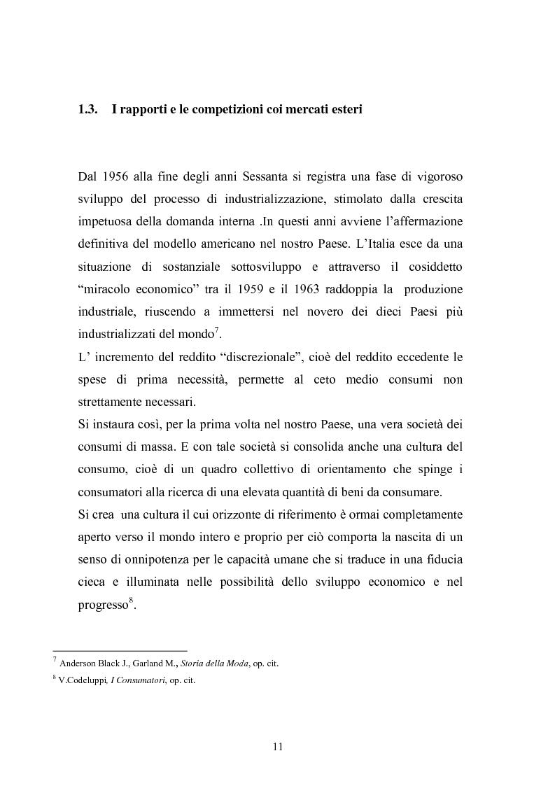 Anteprima della tesi: Qualità e delocalizzazione nella società che cambia il caso LUBIAM, Pagina 9