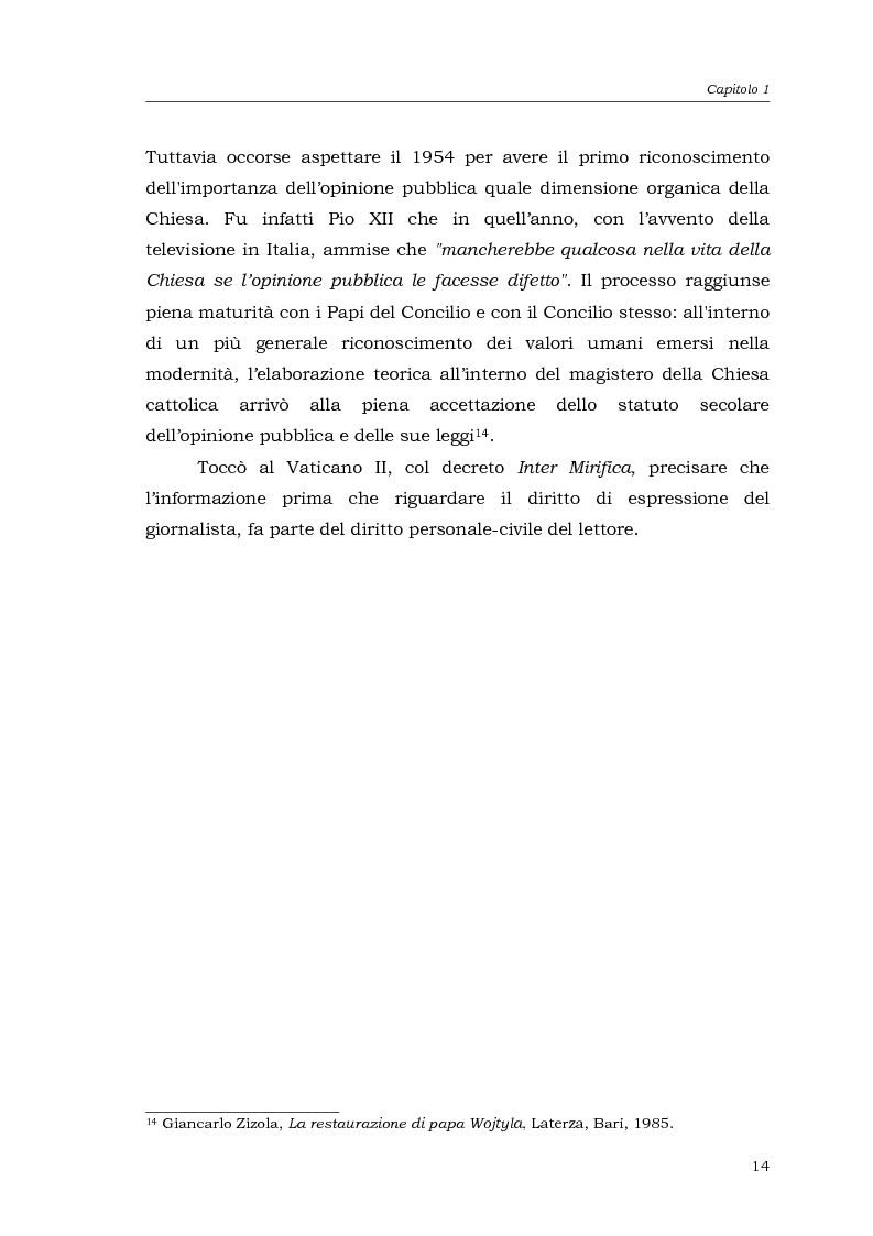 Anteprima della tesi: I media della Chiesa italiana, Pagina 11
