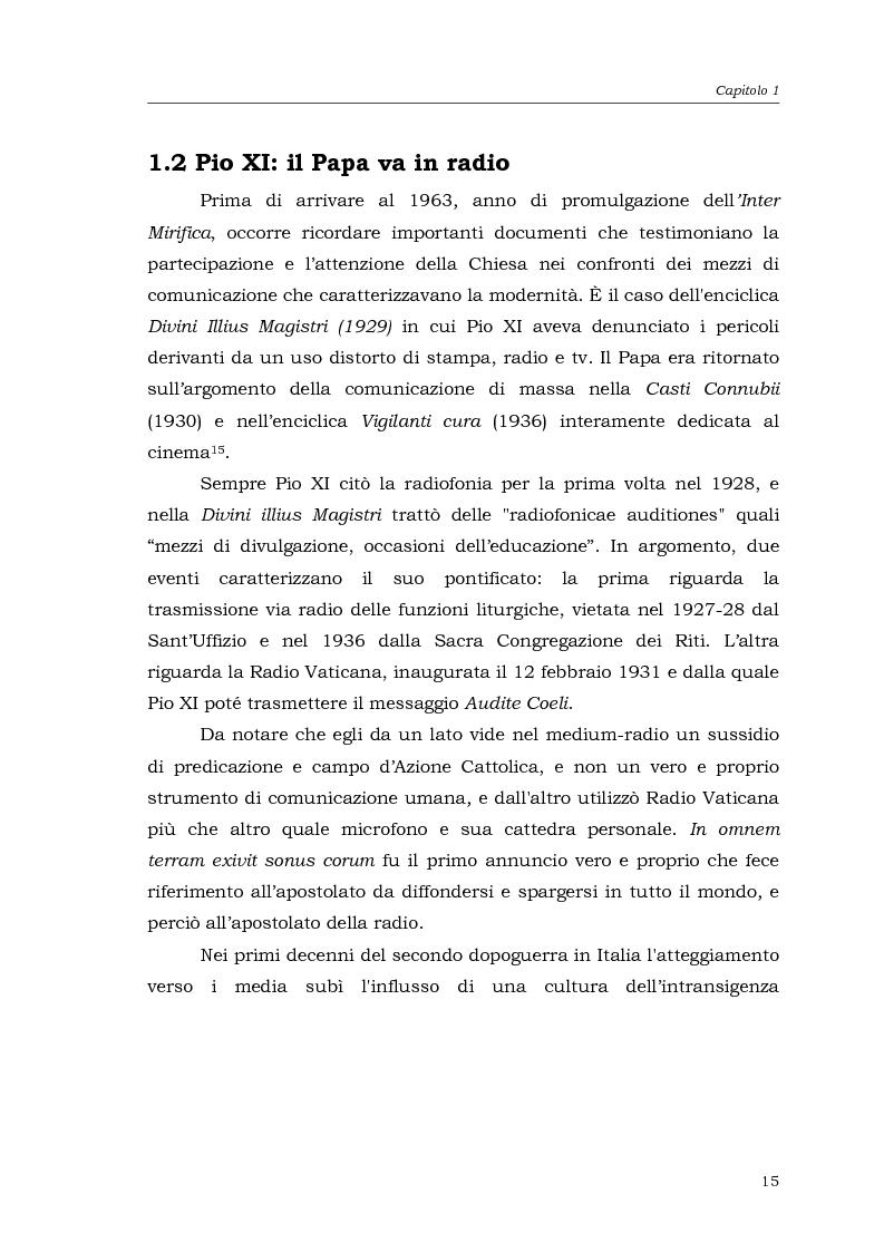 Anteprima della tesi: I media della Chiesa italiana, Pagina 12