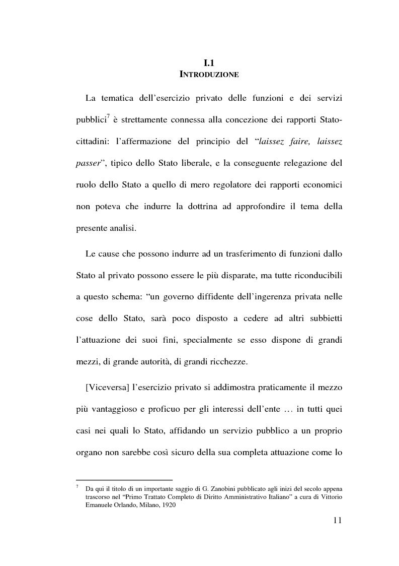 Anteprima della tesi: Il Finanziamento Privato delle infrastrutture pubbliche, Pagina 11