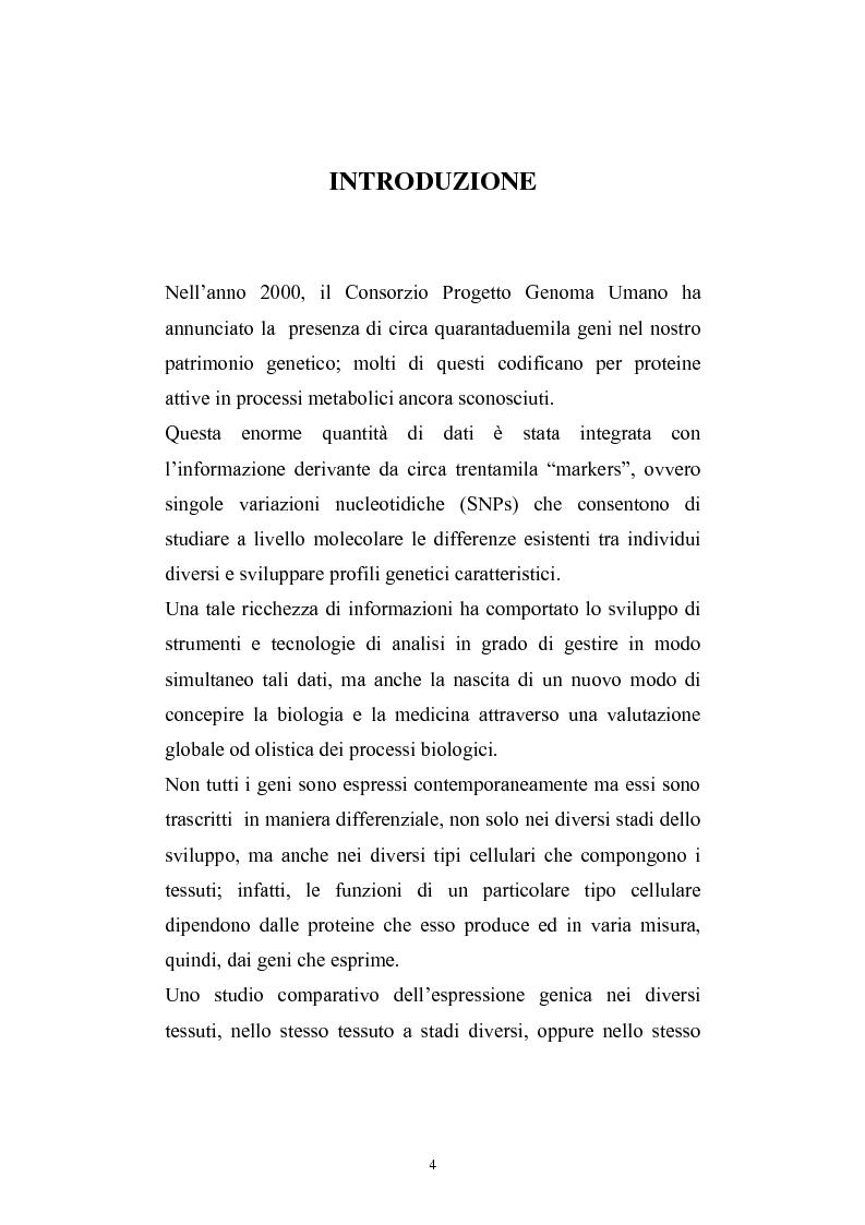 Anteprima della tesi: Studio del profilo di espressione genica in cornee sane ed in cornee affette da cheratocono., Pagina 1