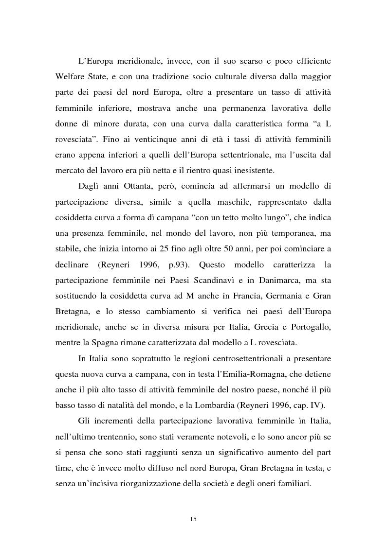 Anteprima della tesi: Donne in carriera e carriere di donne: il caso delle docenti universitarie, Pagina 11