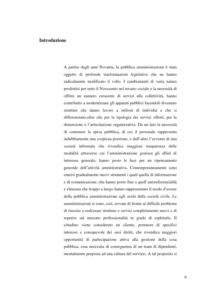 Anteprima della tesi: Strategie e normative per la formazione del comunicatore pubblico, Pagina 1