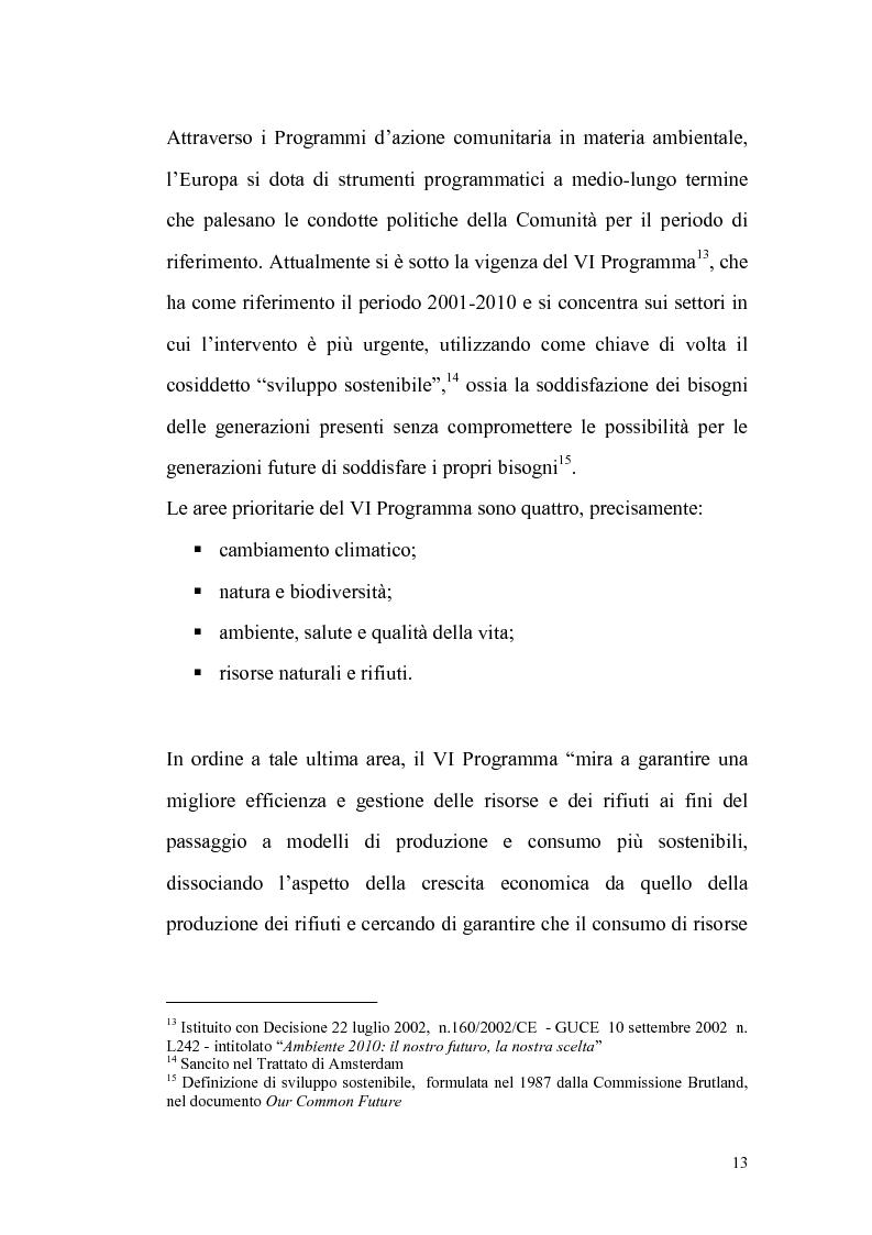 Anteprima della tesi: La gestione dei rifiuti urbani, Pagina 4