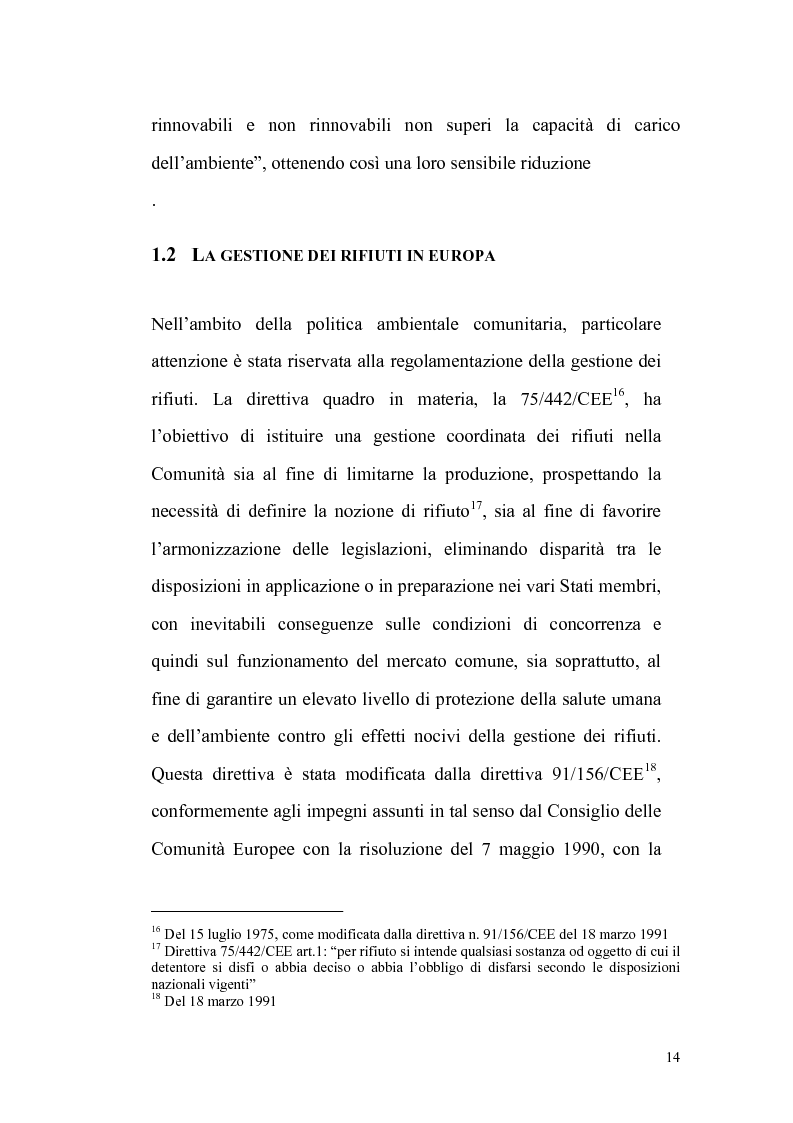 Anteprima della tesi: La gestione dei rifiuti urbani, Pagina 5