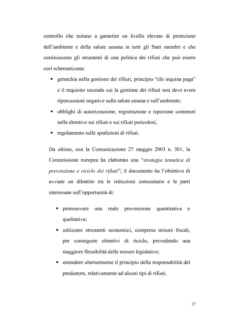 Anteprima della tesi: La gestione dei rifiuti urbani, Pagina 8