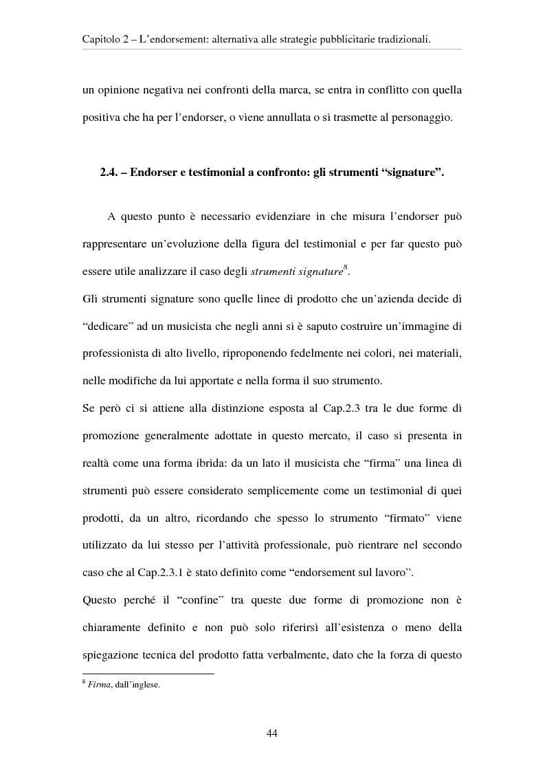 Anteprima della tesi: L'evoluzione del ruolo del testimonial nel mercato degli strumenti musicali: il caso degli Endorsers, Pagina 12