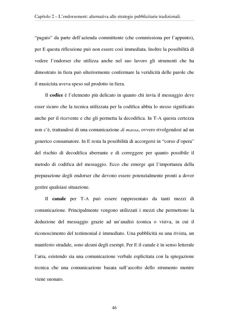 Anteprima della tesi: L'evoluzione del ruolo del testimonial nel mercato degli strumenti musicali: il caso degli Endorsers, Pagina 14