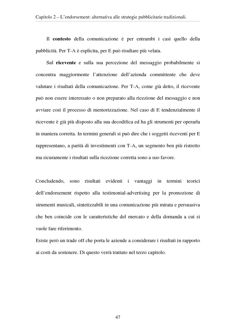 Anteprima della tesi: L'evoluzione del ruolo del testimonial nel mercato degli strumenti musicali: il caso degli Endorsers, Pagina 15
