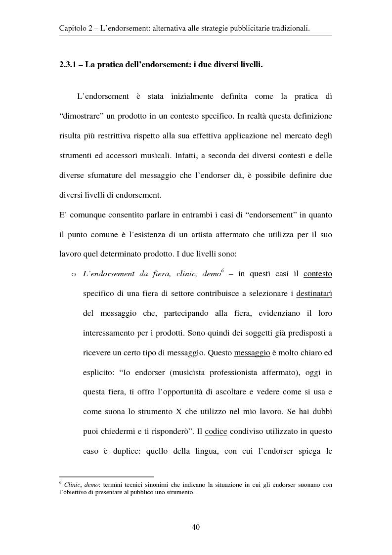 Anteprima della tesi: L'evoluzione del ruolo del testimonial nel mercato degli strumenti musicali: il caso degli Endorsers, Pagina 8