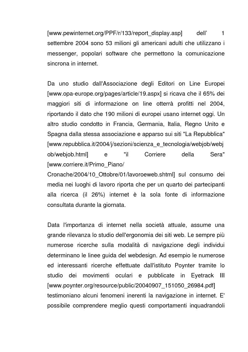 Anteprima della tesi: Interazione Uomo Macchina: un'indagine sperimentale sul banner blindness, Pagina 3