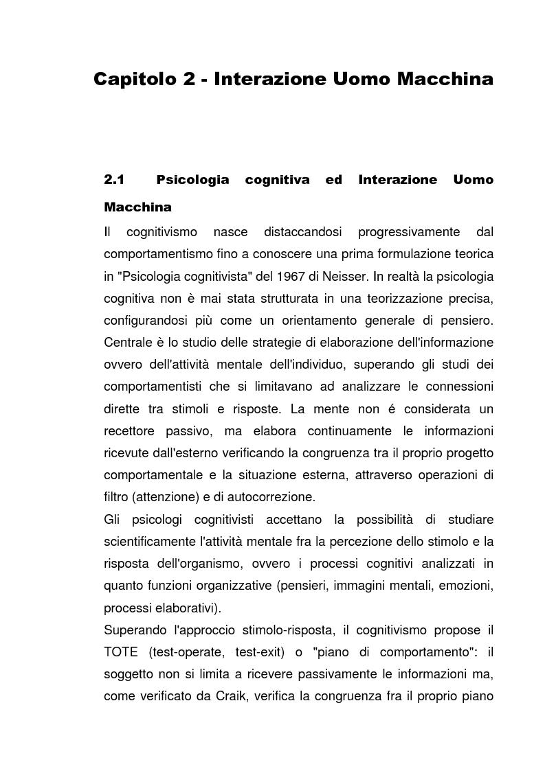 Anteprima della tesi: Interazione Uomo Macchina: un'indagine sperimentale sul banner blindness, Pagina 5