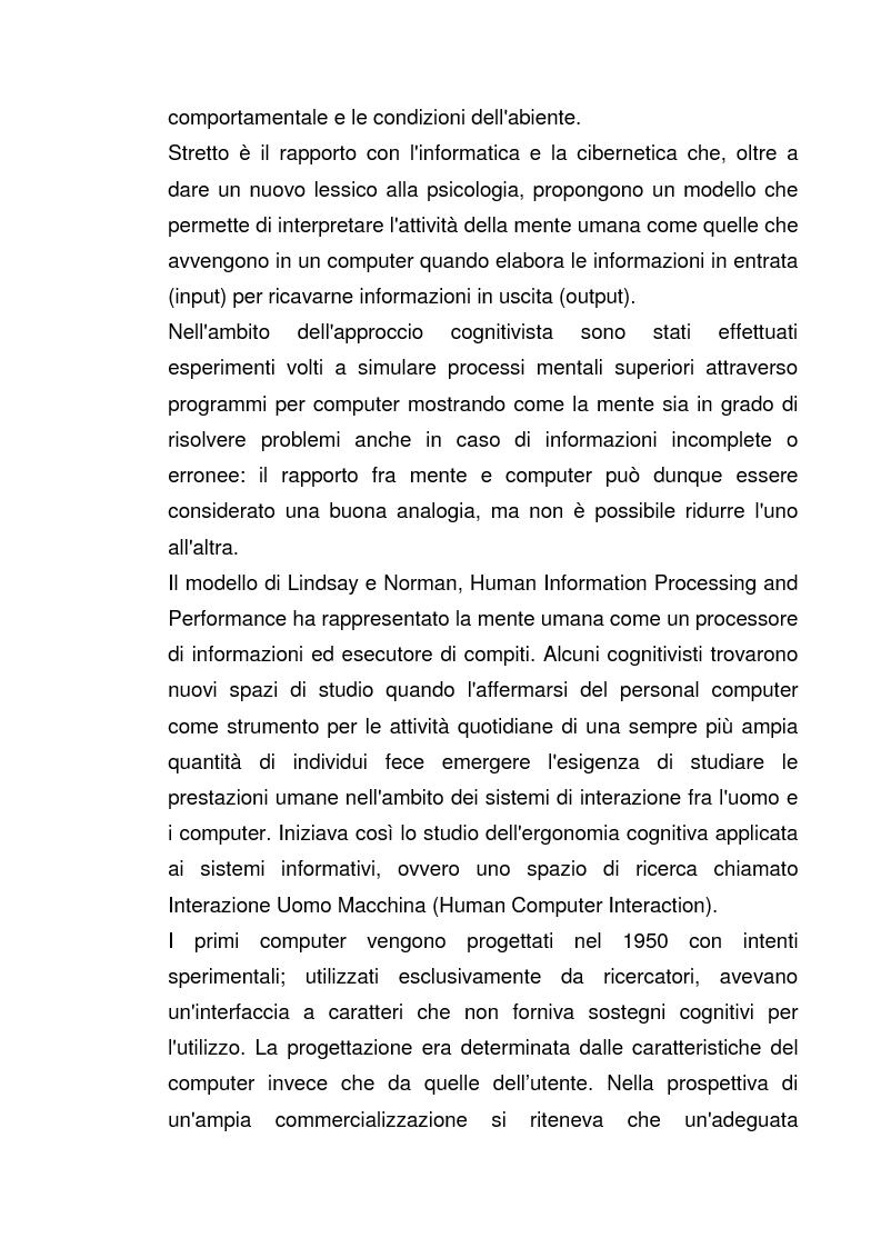 Anteprima della tesi: Interazione Uomo Macchina: un'indagine sperimentale sul banner blindness, Pagina 6