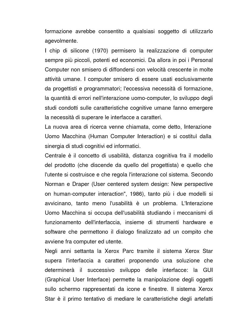 Anteprima della tesi: Interazione Uomo Macchina: un'indagine sperimentale sul banner blindness, Pagina 7