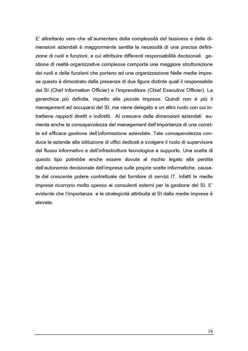 Anteprima della tesi: Sistemi gestionali e.r.p. per le piccole e medie imprese e le aree innovative, Pagina 14