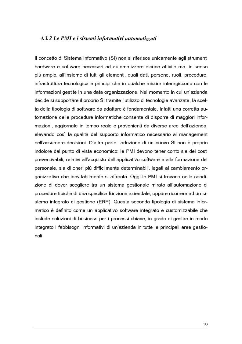 Anteprima della tesi: Sistemi gestionali e.r.p. per le piccole e medie imprese e le aree innovative, Pagina 15