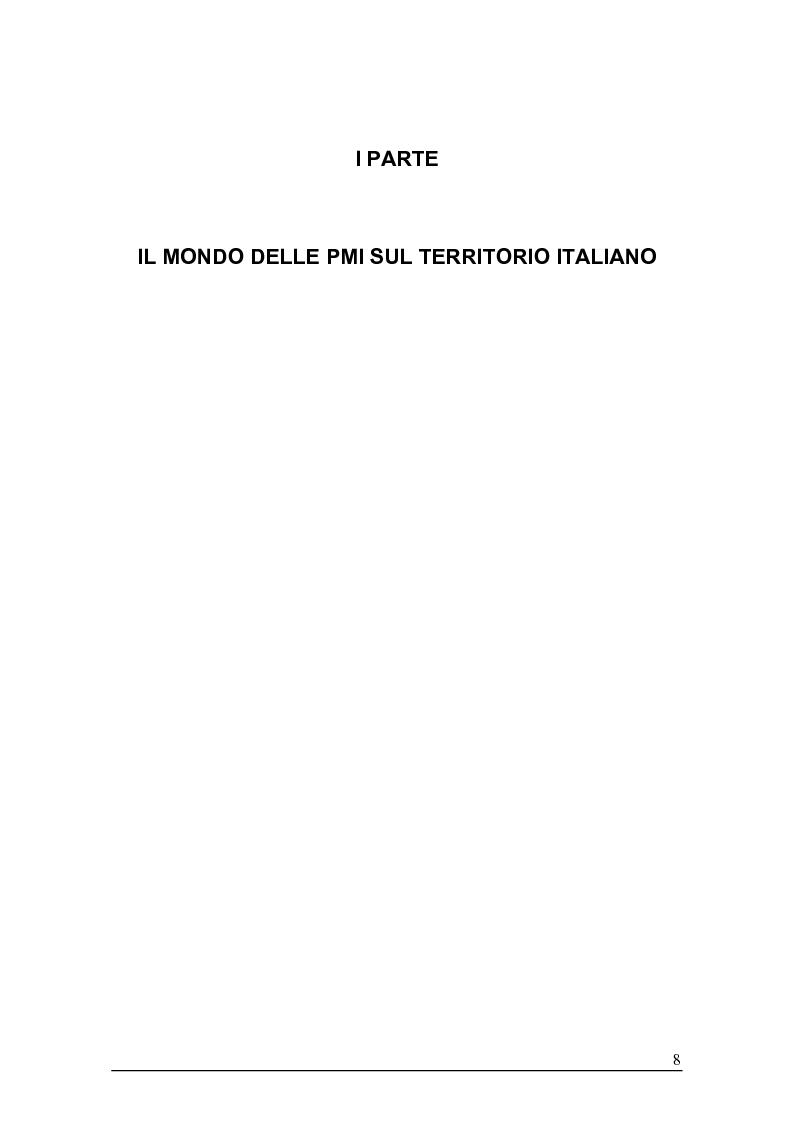 Anteprima della tesi: Sistemi gestionali e.r.p. per le piccole e medie imprese e le aree innovative, Pagina 4