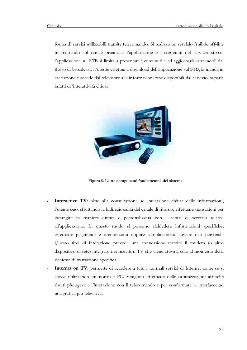 Anteprima della tesi: Sviluppo di un servizio di teleprenotazione eventi per Tv digitale su piattaforma DVB-MHP, Pagina 12