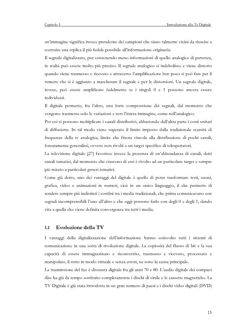 Anteprima della tesi: Sviluppo di un servizio di teleprenotazione eventi per Tv digitale su piattaforma DVB-MHP, Pagina 4