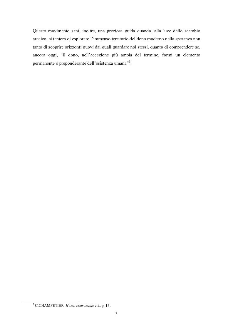 Anteprima della tesi: A partire da Marcel Mauss: il paradosso del dono fra reciprocità e dispendio., Pagina 4